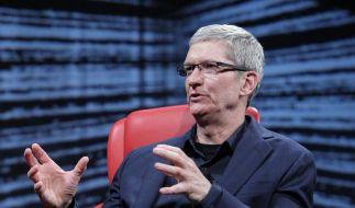 Warten auf die nächste Apple-Neuheit (Foto)