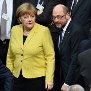 Was kann Merkel überhaupt noch gegen Schulz ausrichten? (Foto)