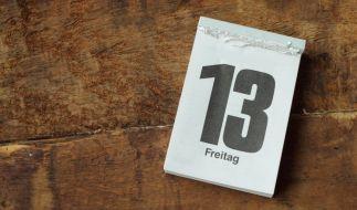 Was ist dran am Unglücksglauben am Freitag, den 13.? (Foto)