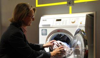 Waschmaschine in der Wohnung (Foto)