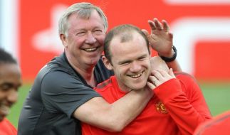 Wayne Rooney, Alex Ferguson (Foto)