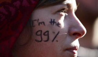 «We are the 99 percent»: Die Occupy-Bewegung breitete sich von den USA schnell nach Europa aus. (Foto)