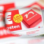 Webseite des Versandhändlers Neckermann.de: Solange das Insolvenzverfahren läuft, geht das Geschäft normal weiter.