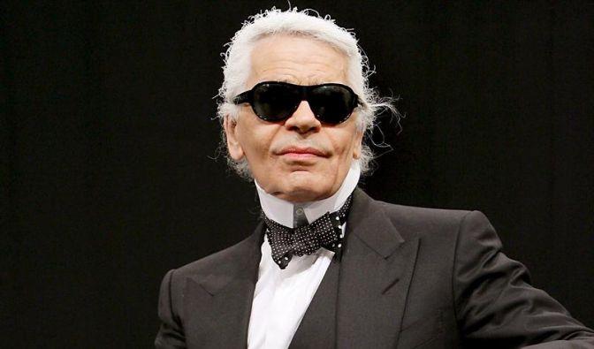 Wechselt seine Musen wie seine Unterwäsche: Karl Lagerfeld.  (Foto)