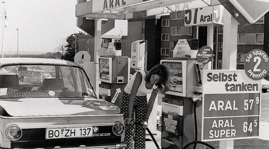 Weg mit dem Tankwart (Foto)
