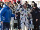 Weihnachten auf der ISS: Drei Raumfahrer angekommen (Foto)