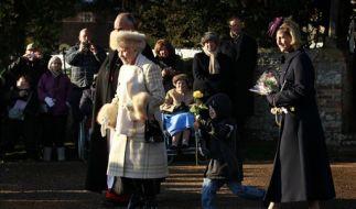 Weihnachten bei der Queen (Foto)