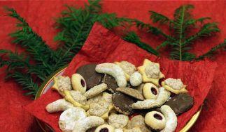 Weihnachtssüßigkeiten in Maßen genießen (Foto)