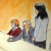 Weil keine Kameras erlaubt waren, gibt es von der Anklageverlesung im Falle James Holmes nur Zeichnungen.