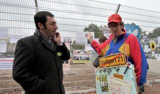 Weitere Proteste gegen Stuttgart 21 (Foto)