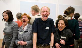 Weltlachtag: Auch grundlos Lachen macht Spaß (Foto)