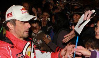 Weltmeister Loeb gewinnt Rallye in Argentinien (Foto)