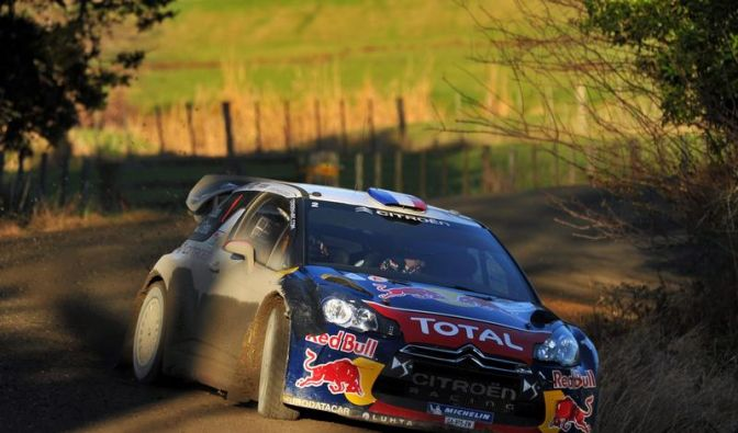 Weltmeister Loeb setzt Siegeszug in Neuseeland fort (Foto)