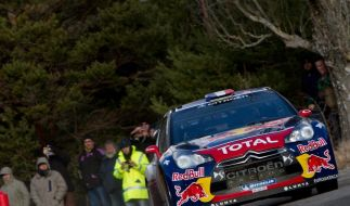 Weltmeister Loeb vor Sieg bei Rallye Monte Carlo (Foto)