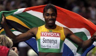 Weltmeisterin Semenya startet bei Berliner ISTAF (Foto)