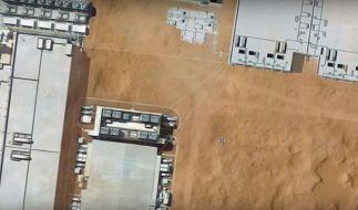 Weltraumforscher entdeckten bei Google Sky diese geheime Basis. Was steckt dahinter? (Foto)