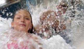 Weltrekord im Wasserrutschen geknackt (Foto)