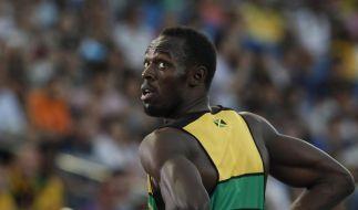 Weltrekordler Bolt sprintet ins 100-Meter-Finale (Foto)