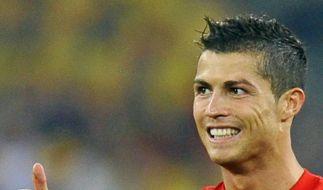 Weltstar Ronaldo ist Portugals Hoffnungsträger (Foto)