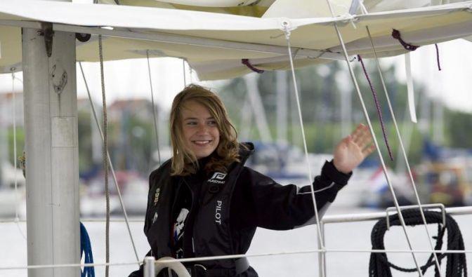 Weltumseglerin Laura Dekker ist fast am Ziel (Foto)