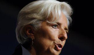 Weltwirtschaft: IWF-Chefin warnt vor Abwärtsspirale (Foto)