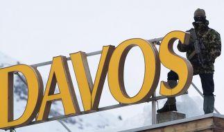 Weltwirtschaftsforum beginnt in Davos (Foto)