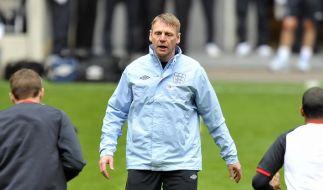 Wembley Schicksalsort für Interimscoach Pearce (Foto)