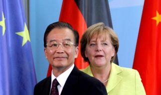 Wen Jiabao bietet Europa Hilfe an (Foto)