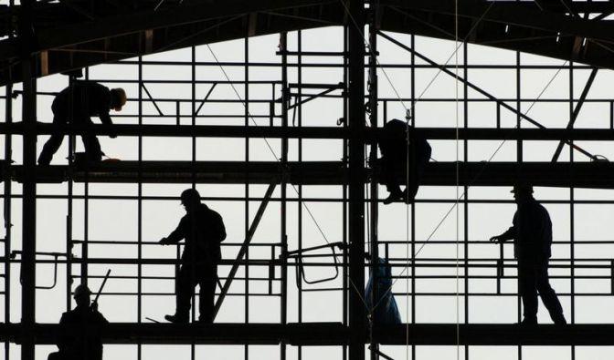 Weniger Aufträge am Bau (Foto)