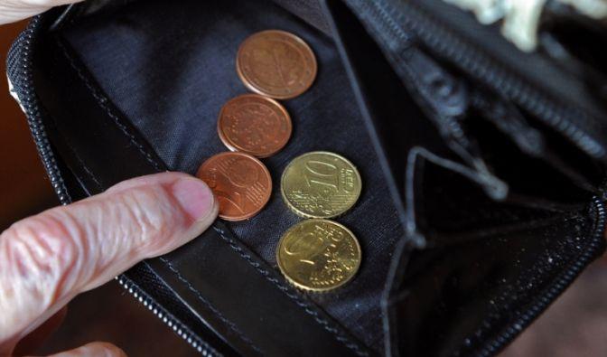 Weniger Rente (Foto)