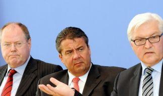 Wer soll es denn nun machen? Die Diskussion um den SPD-Kanzlerkandidaten ist neu entfacht. (Foto)