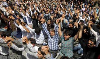 Werden sie nach dem Freitagsgebet auf den Straßen skandieren? (Foto)