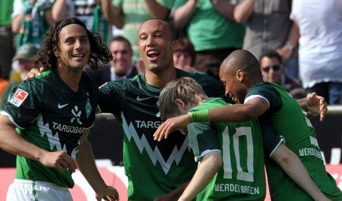 Werder feiert Klassenerhalt: 2:0 gegen BVB (Foto)
