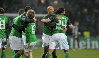 Werders Europapokal-Abschied: Wut statt Wehmut (Foto)