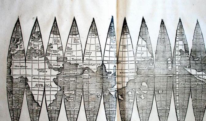 Wertvolle Waldseemüller-Karte zufällig entdeckt (Foto)