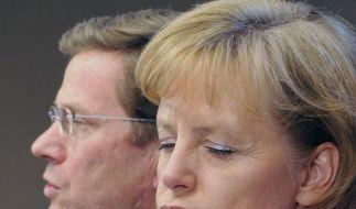 Westerwelle Merkel (Foto)