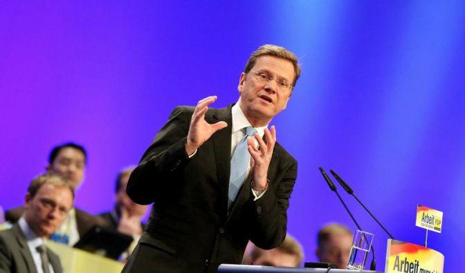 Westerwelle verlangt «Politikwechsel» (Foto)