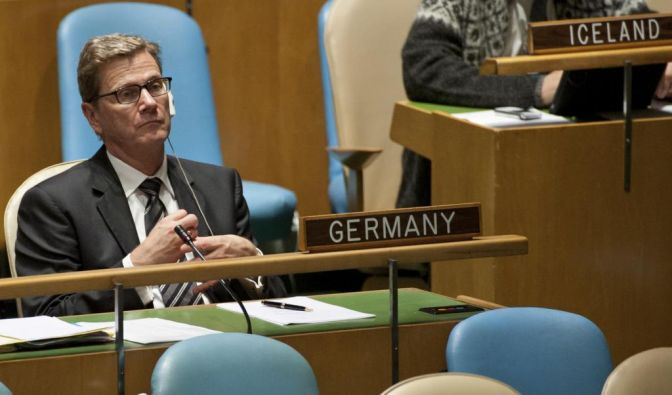 Westerwelles Rede vor UN-Vollversammlung (Foto)