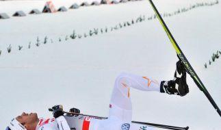Wettkampf- und Reisestress bei der Tour de Ski (Foto)