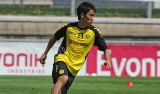 «Wie ein Neuzugang»: Kagawa sehnt Comeback herbei (Foto)