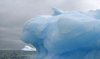 Wie das Schmelzen der Eisberge den Meeresspiegel beeinflussen, ist noch unklar. (Foto)