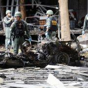 Schon wieder Thailand! Tote bei Autobombenanschlag (Foto)