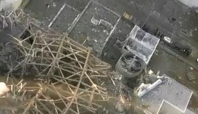 Wieder grauer Rauch über Fukushima-Reaktor 3 (Foto)