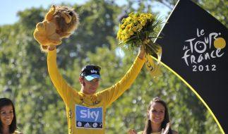 Wiggins übernimmt Führung in Weltrangliste (Foto)
