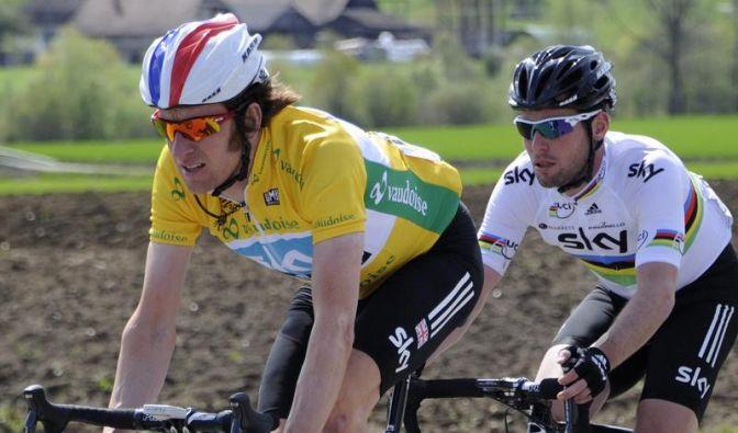 Wiggins verteidigt Führung bei Tour de Romandie (Foto)