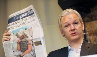 Wikileaks-Vorwürfe gegen «Guardian»-Journalisten (Foto)