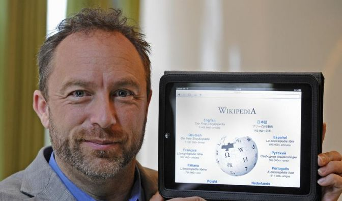 Wikipedia-Gründer Jimmy Wales (Foto)