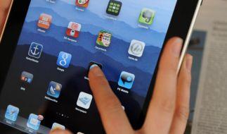 Wilde Spekulationen um das iPad 5: Im September soll es auf dem Markt sein. (Foto)