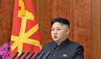 Will er wirklich die Aussöhnung mit Südkorea? Nordkoreas Machthaber Kim Jong Un überrascht in seiner Neujahrsrede. (Foto)