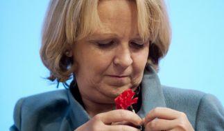 Will Langzeitarbeitslose für gemeinnützige Arbeiten einsetzen: NRWs SPD-Chefin Kraft. (Foto)